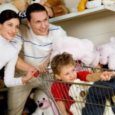 Einkaufen mit Kinderbetreuung in Stuttgart