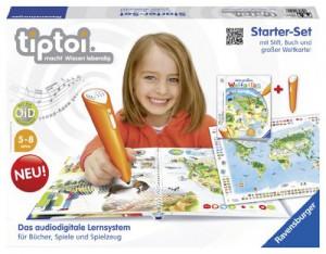 tiptoi Starter-Set Mein großer Weltatlas