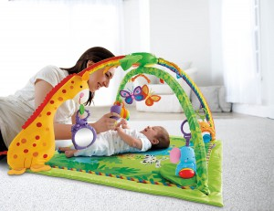 Fisher Price Rainforest Spielbogen_Baby