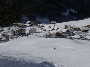 Gästehaus Alpenblick_Skipiste im Winter