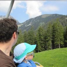 Familien-Wanderung zum Alpkopf bei Berwang