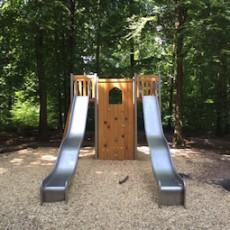 Waldspielplatz Esslingen – Spielen und Klettern unter Bäumen