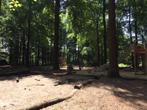 Waldspielplatz Esslingen Sandkasten