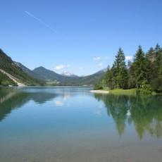 Eine Familienwanderung am Heiterwanger See