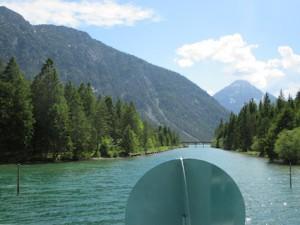 Heiterwanger See_Bootsfahrt Kanal