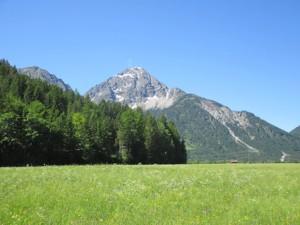 Heiterwanger See_Kohlbergspitze