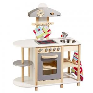 Howa Deluxe Spielküche im Holz-Kinderküchen Vergleich