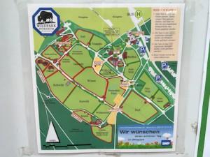 Wildpark Pforzheim Karte