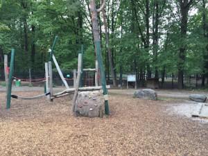 Wildpark Pforzheim Spielplatz Klettergerät