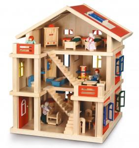 Bayer Chic Puppenhaus im Holz-Puppenhaus Vergleich
