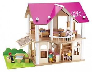 Eichhorn Puppenhaus Villa im Holz-Puppenhaus Vergleich