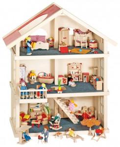 Goki Puppenhaus im Holz-Puppenhaus Vergleich