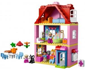 Lego Duplo Familienhaus im Puppenhaus Vergleich