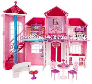 Mattel Barbie Traumhaus im Puppenhaus Vergleich