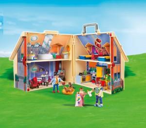 Playmobil Mitnehm-Puppenhaus im Puppenhaus Vergleich