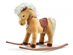 Steiff Franzi Reit-Pony im Schaukelpferd Vergleich