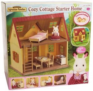 Sylvanian Families Einsteiger Haus-Set im Puppenhaus Vergleich
