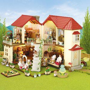 Sylvanian Families Stadthaus im Puppenhaus Vergleich