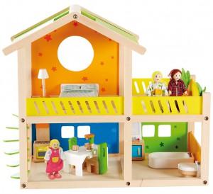 Hape kleine Villa Puppenhaus im Holz-Puppenhaus Vergleich