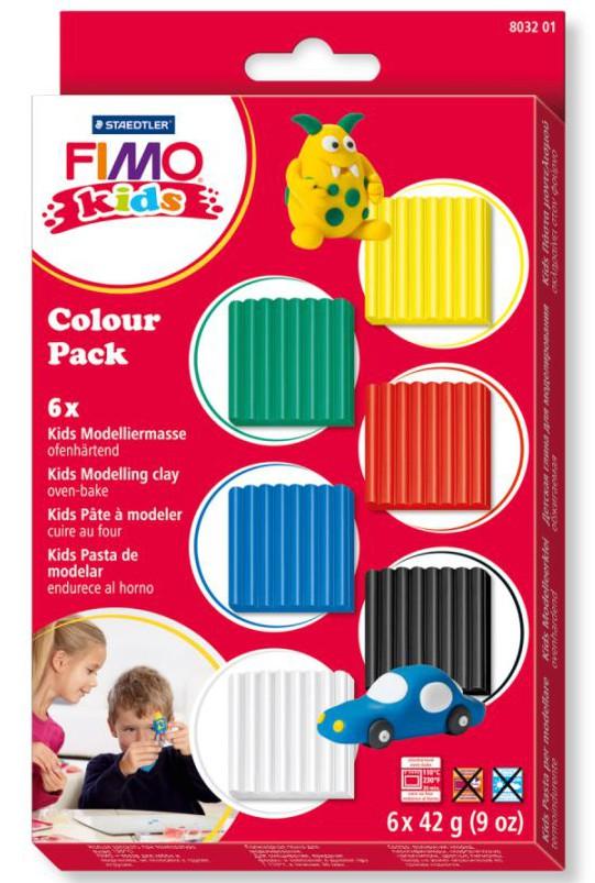 FIMO Kids Colour Pack Basic im Knete Vergleich