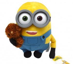 Minions Bob mit Bär Plüschfigur_Minions Spielzeug