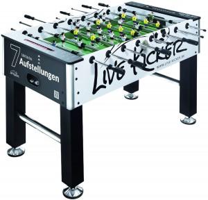 Live Kicker Kickertisch Heimspiel im Tischkicker Vergleich
