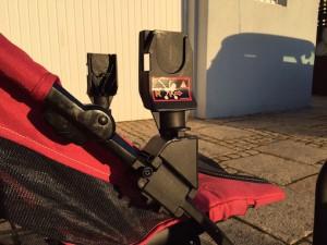 Kiddy evo-lunafix Adapter auf Buggy
