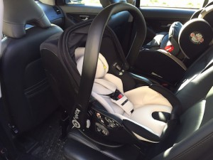 Kiddy evo-lunafix im Auto