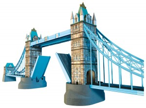Ravensburger Tower Bridge-London 3D Puzzle-Bauwerke