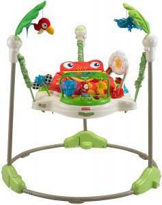 Fisher-Price Baby Gear - K7198 - Rainforest Jumperoo im Lauflernhilfe Vergleich