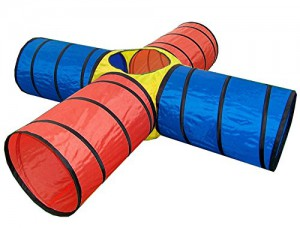 Stimo 24 4-Röhren Spieltunnel im Krabbeltunnel Vergleich