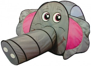 toys XXL-Spielzelt Elefant mit Riesentunnel im Krabbeltunnel Vergleich