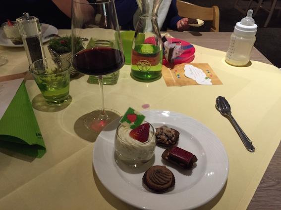Abendessen im Oberjoch – Familux Resort