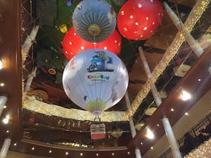 Foyer im Kinderhotel Oberjoch