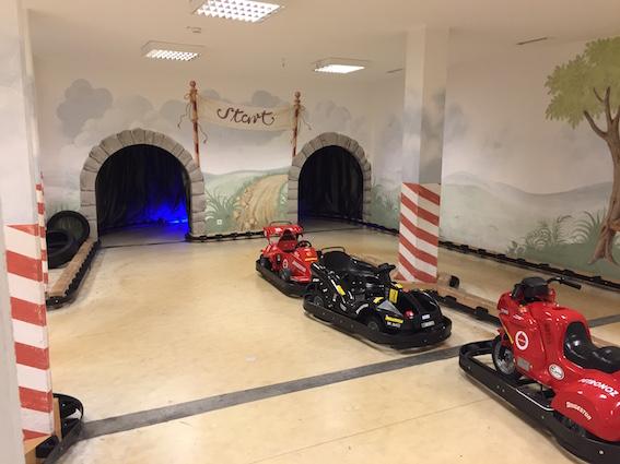 GoKartbahn im Kinderhotel Oberjoch