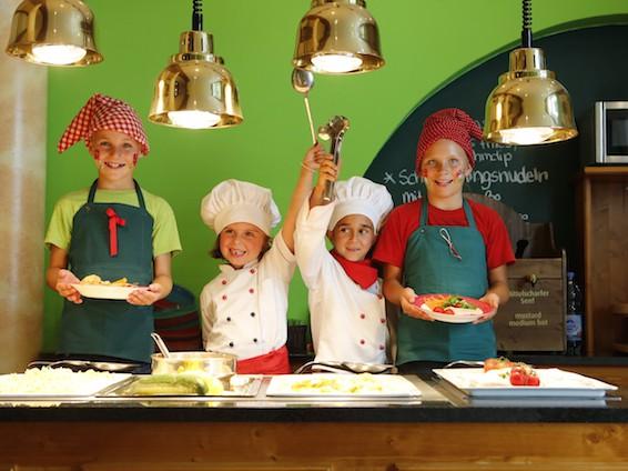 Kinder Kochen im Oberjoch – Familux Resort