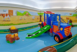 Kinderhallenbad Kinderhotel Oberjoch