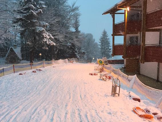 Rodelbahn im Oberjoch – Familux Resort