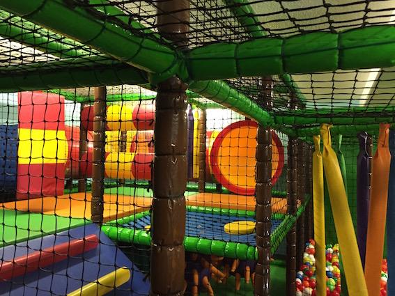Softplayanlage im Kinderhotel Oberjoch