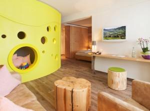 Zimmer Kinderhotel Oberjoch