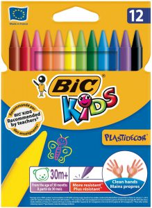 BIC Kids Wachsmalkreide Plast Decor im Wachsmalstifte Vergleich