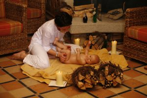 Baby Ayurveda im Kinderhotel Alpenrose