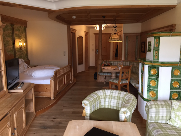 Fürsten-Suite im Kinderhotel Alpenrose
