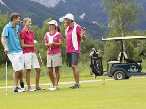 Golf im Kinderhotel Alpenrose