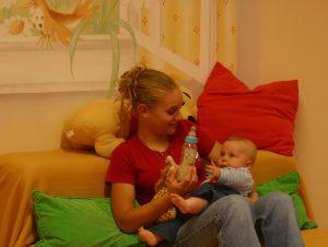 Kinderbetreuung im Kinderhotel Alpenrose