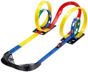 SIMM Spielwaren 50145 Rennbahn Mission 4 Loops im Autorennbahn Vergleich