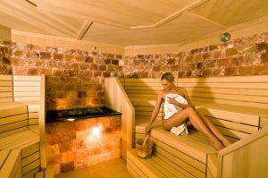 Sauna im Kinderhotel Alpenrose