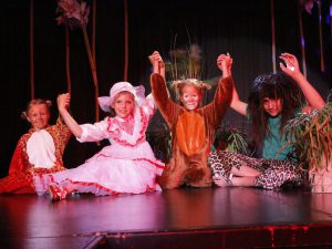 Theater im Kinderhotel Alpenrose