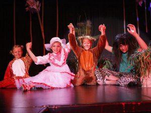 Theater im Kinderhotel Alpenrose