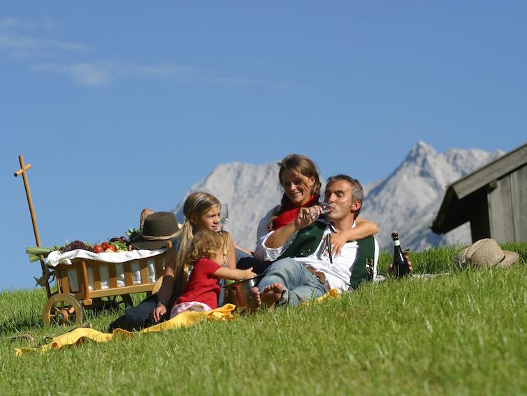 Wandern im Kinderhotel Alpenrose